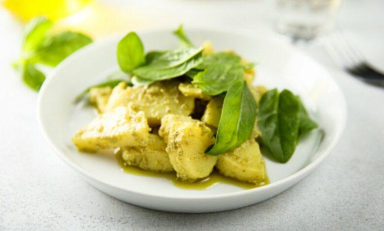 Receta de Ensalada de patatas y espinacas al curry 1