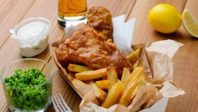 Fish and chips de caballa, receta de pescado auténtica británica 22