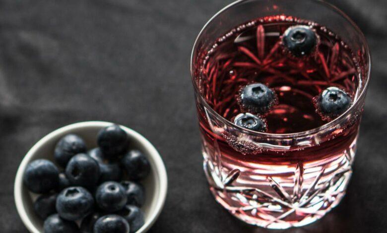 Kissel de arándanos rojos, una bebida saludable y refrescante 1