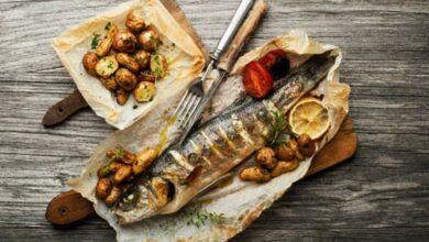 Lubina al papillote, receta de pescado fácil de preparar 2
