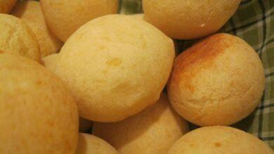 Pan de queso ligero y sin gluten: Pão de queijo 9