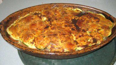 Parmesana de calabacín, receta italiana 2