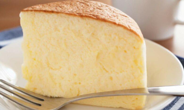 Pastel de queso japonés, receta fácil y deliciosa 1