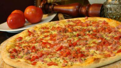 Pizza amatriciana, receta casera 2