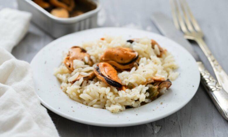 Receta de risotto de mejillones al estilo casero 1