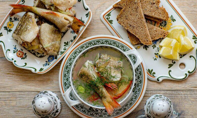 5 recetas de sopa de pescado, un plato de cuchara fácil de preparar 1