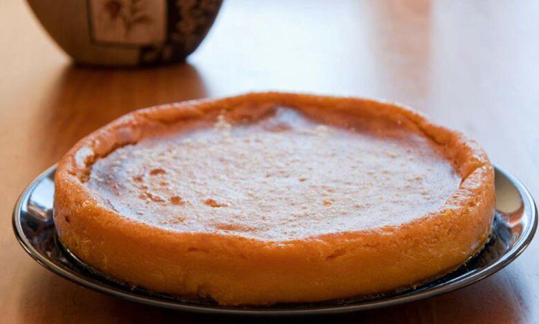 Tarta de queso sin azúcar con calabaza, receta de postre fácil de preparar 1