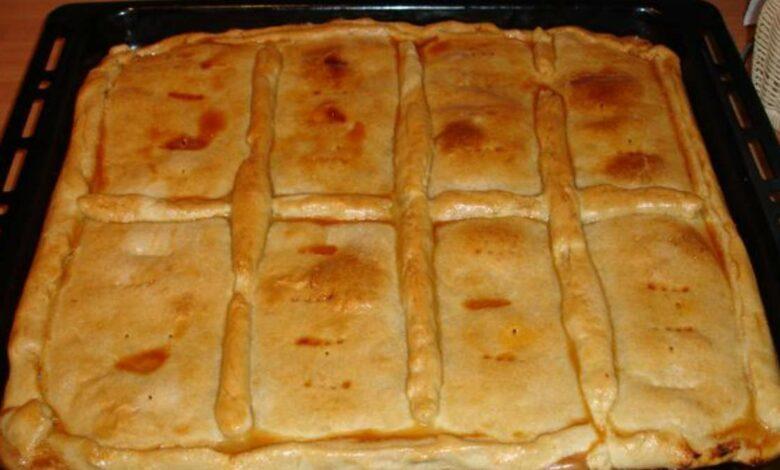 Tarta integral de atún con harina de avena, receta casera 1