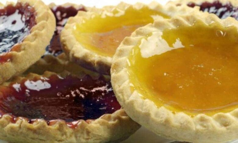 Tartaletas de mango, chocolate y frambuesa, una receta sencilla 1