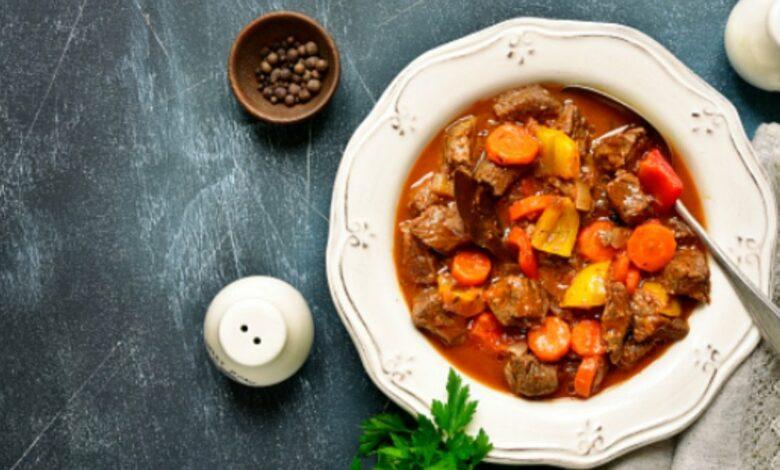 Receta de Ternera a la jardinera, receta de carne deliciosa 1