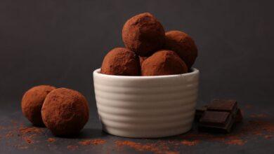 Trufas de chocolate, receta de postre fácil y delicioso 3