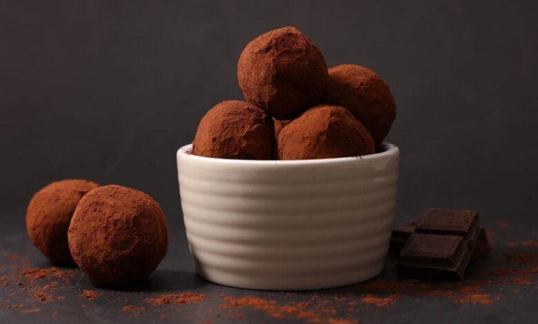 Trufas de chocolate, receta de postre fácil y delicioso 1