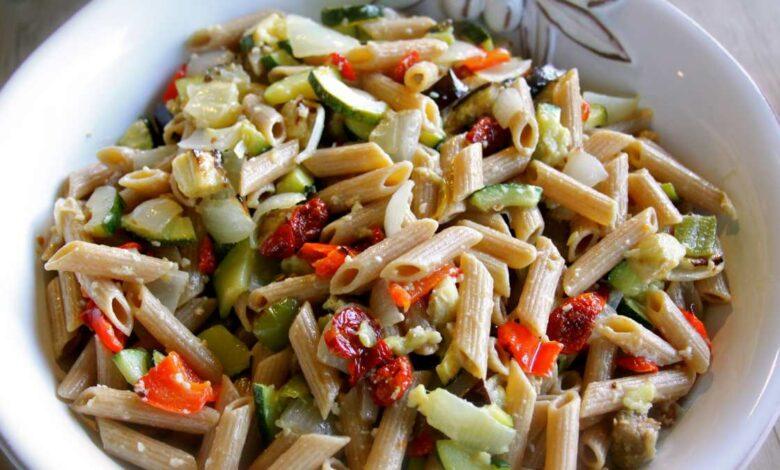 3 recetas de ensalada de pasta fáciles para el verano 1
