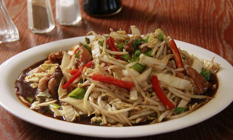 Receta de Chow mein de pollo, la receta china más exótica 1
