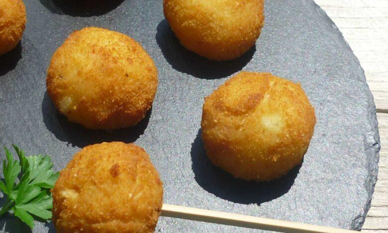 Croquetas de patata veganas, sin huevo 1