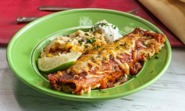 Receta de la enchilada mexicana paso a paso 1