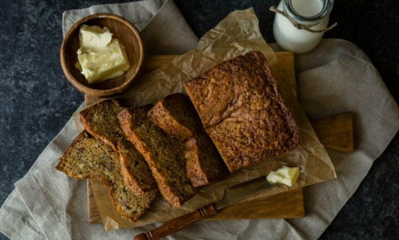 Receta de Pan de Plátano o Banana Bread (receta norteamericana) 1