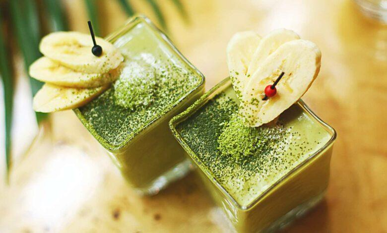 ¡el mejor postre con té verde que probarás! 1