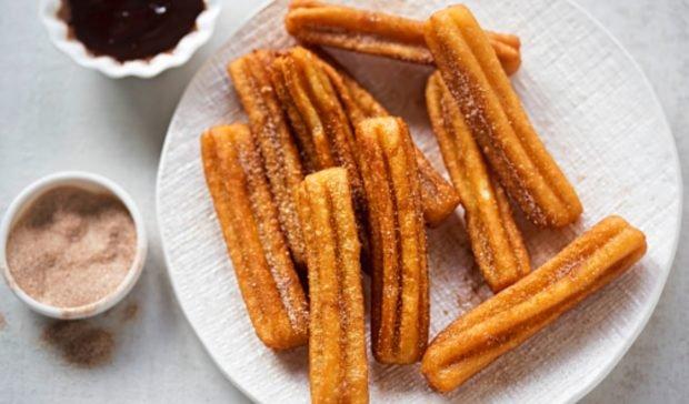 Churros de avena sin azúcar, receta de merienda tradicional saludable 2