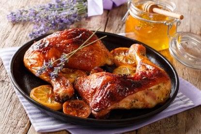 Muslos de pollo al horno crujientes y jugosos 2
