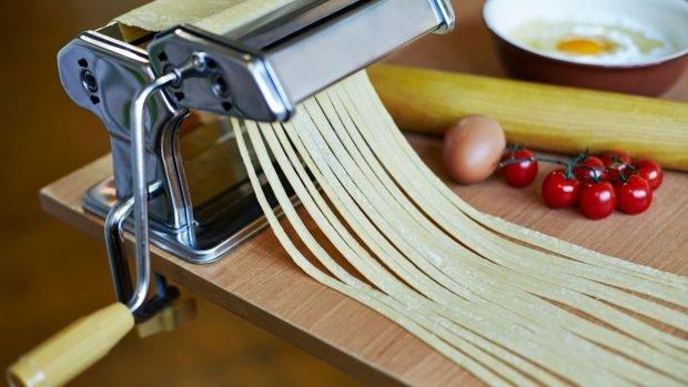 Pasta sin gluten casera a base de maíz, apta para celíacos 2
