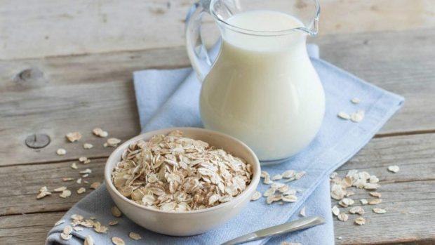 Pastel de avena y yogur