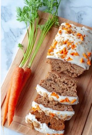 Pastel de zanahoria vegano casero: el verdadero pastel de zanahoria