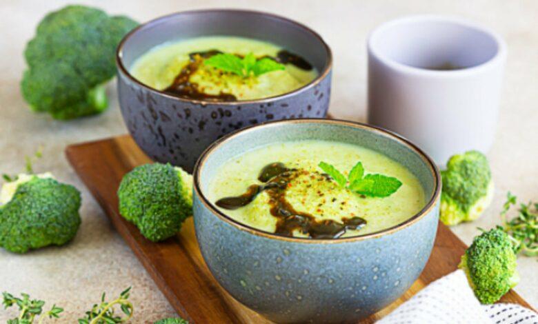 Receta de Crema de brócoli 1