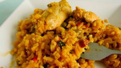El mejor arroz amarillo con pollo: receta de la abuela 5