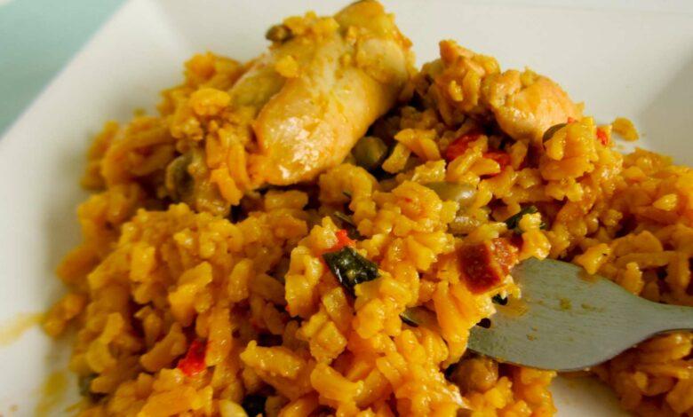 El mejor arroz amarillo con pollo: receta de la abuela 1