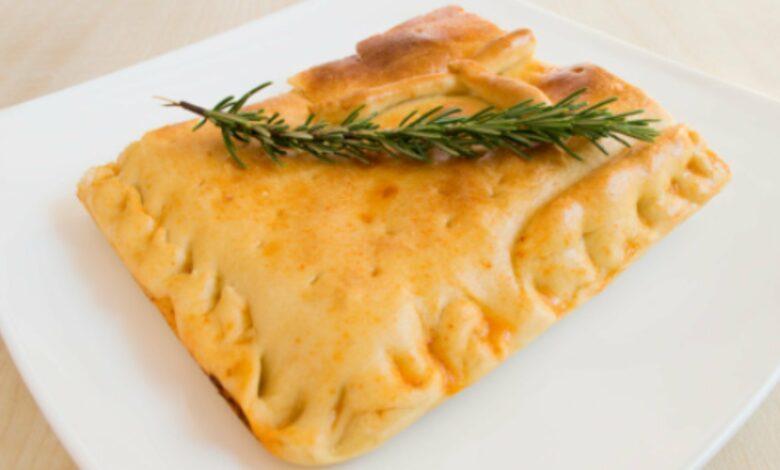 Empanada carbonara, receta rápida y fácil de preparar 1