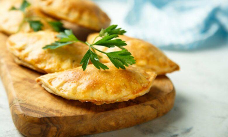 Receta de empanadas de hojaldre de jamón y queso 1
