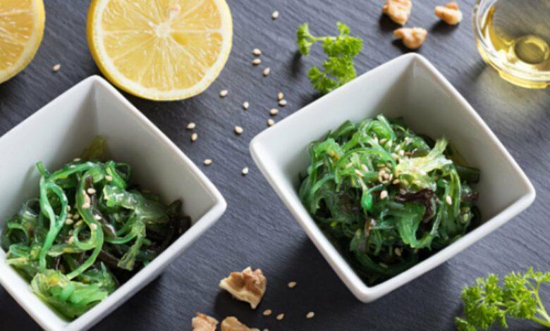 Receta de Ensalada de Algas Wacame 1