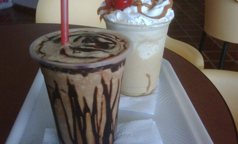 Frapuccino de chocolate, receta casera 1
