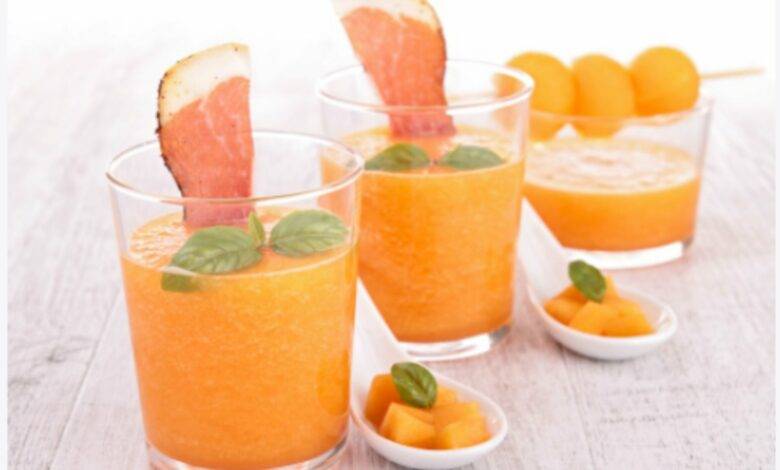 Gazpacho de melón con yogur, la receta más fresca del verano 1