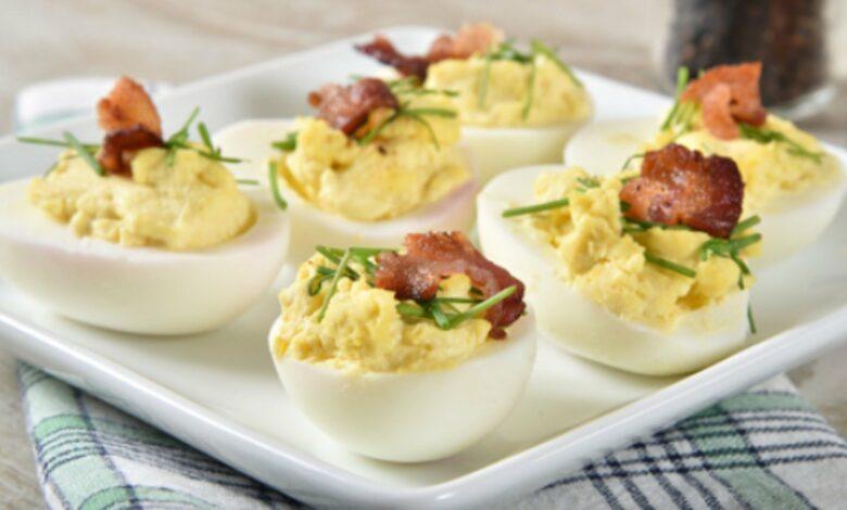 Las 5 recetas de huevos rellenos más refrescantes, originales y deliciosas del verano 1