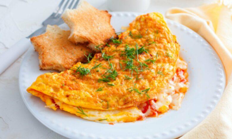 Receta de Huevos revueltos con tomate y cebolla 1