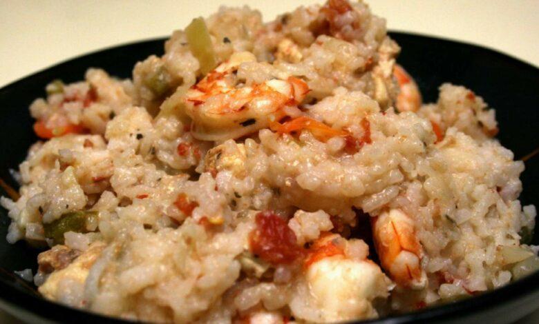 Jambalaya receta tradicional cajún de arroz 1