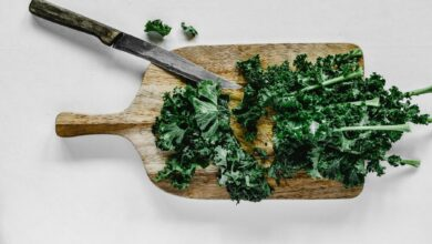 Receta de Kale salteado con ajo fácil de preparar 4