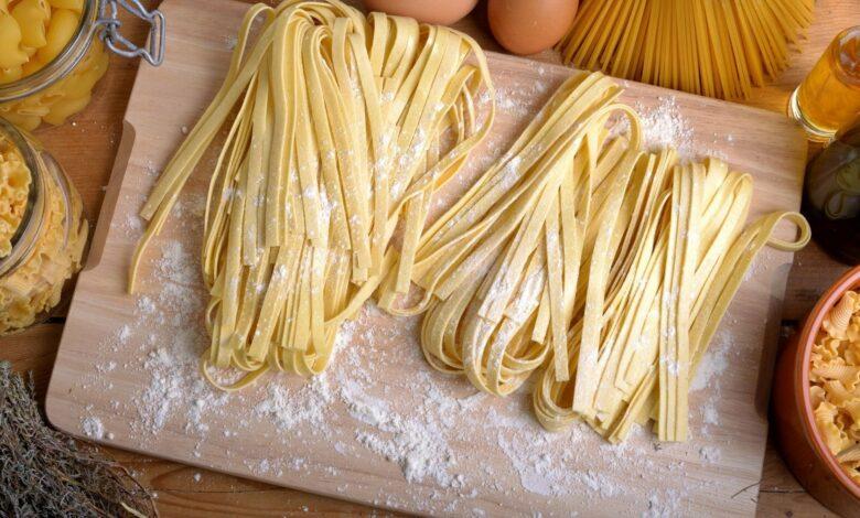 Pasta sin gluten casera a base de maíz, apta para celíacos 1