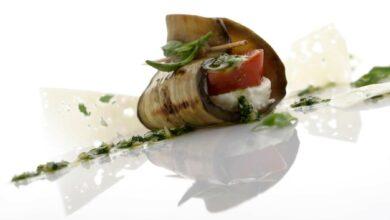 Pinchos de berenjena caprese, receta casera 3
