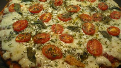 Pizza romana picante, sin gluten 7
