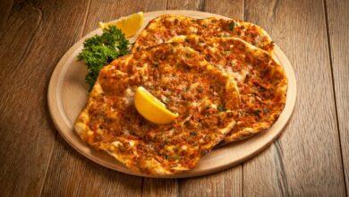 Lahmacun: pizza turca tradicional 1