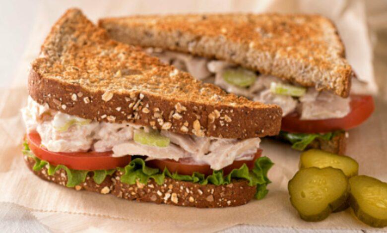 Receta de sándwich de atún casero para gourmets 1