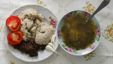 Sopa de avena y flor de calabaza, receta casera 8