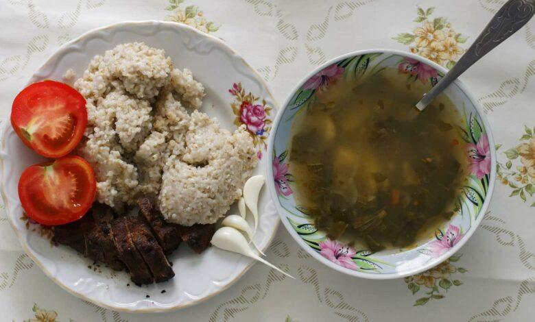 Sopa de avena y flor de calabaza, receta casera 1