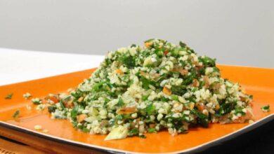Tabulé o ensalada libanesa, una receta sabrosa 2