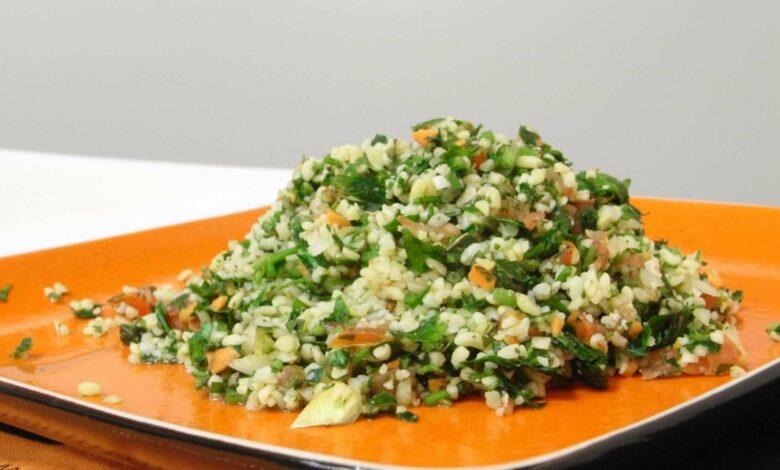 Tabulé o ensalada libanesa, una receta sabrosa 1