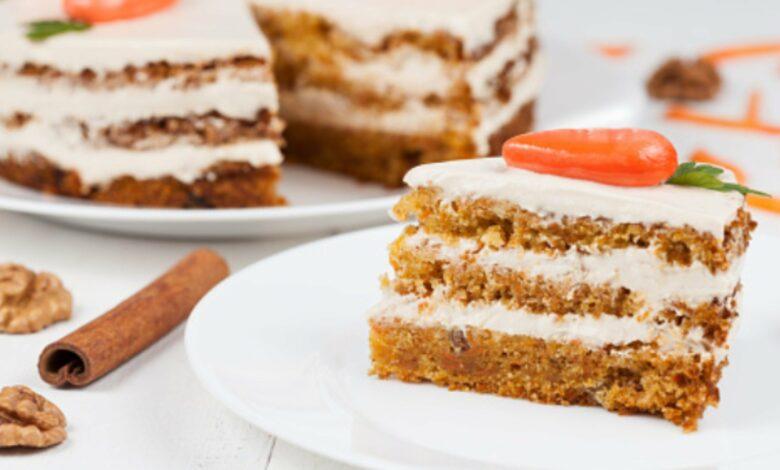 Tarta de zanahoria vegana casera: la auténtica carrot cake 1