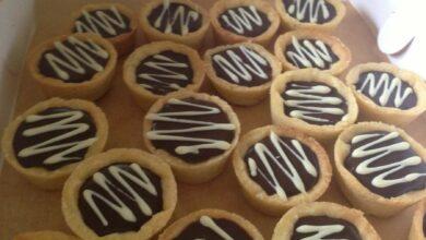 Tartaletas de toffee salado y chocolate negro 6